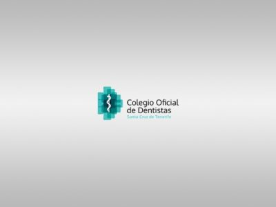 Logotipo del Colegio Oficial de Dentistas de Santa Cruz de Tenerife.